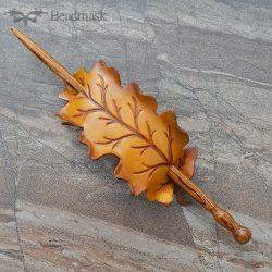 golden-oak-hairstick
