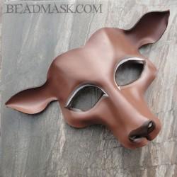 deer masquerade mask