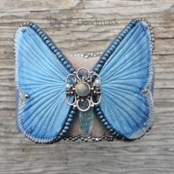 Leather Butterfly Cuff