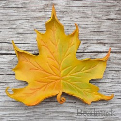 yellow maple barrette