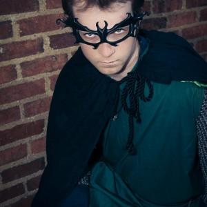black bat mask