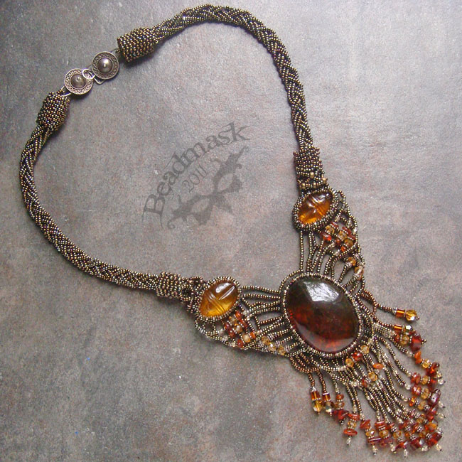 Baltic Amber Necklace © 2011 Andrea Adams