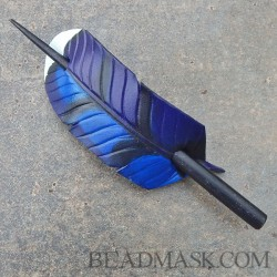 bluejay-feather-hairstick