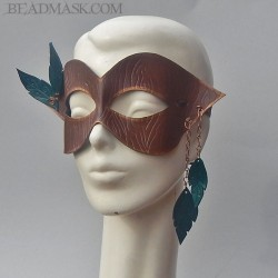 dryad leather mask