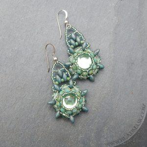 sage-mandala-beaded-earrings2