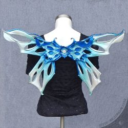 frosted leather fairy wings