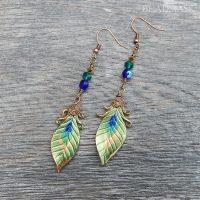 Peacock Dangles