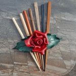 leather-red-rose-barrette
