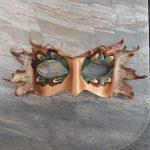 woodland leather mask