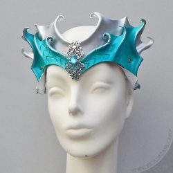 leather mermaid crown